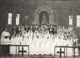 PRIMA COMUNIONE CLASSE 1962